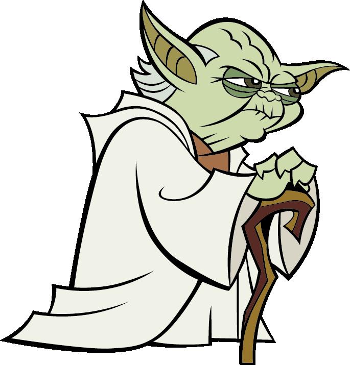 Star wars yoda clipart vector freeuse Yoda Anakin Skywalker Mace Windu Star Wars - Old elf 685*715 ... vector freeuse