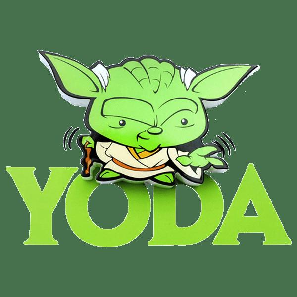 Star wars yoda clipart free Star Wars - Yoda - Mini 3D LED Night Light - ZiNG Pop Culture free