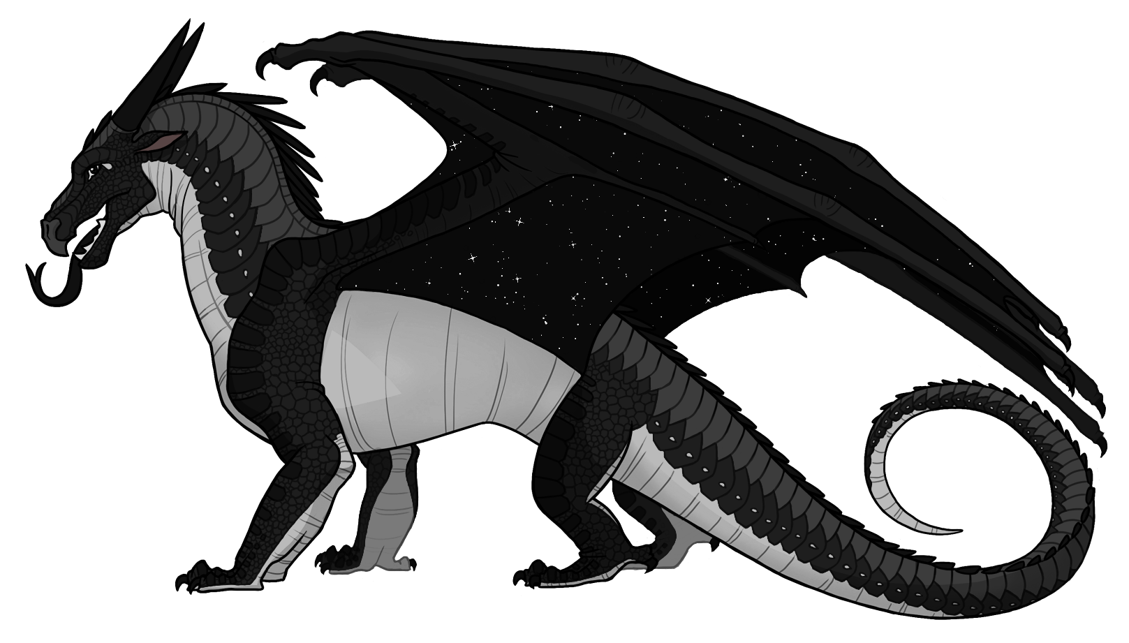 Star with wings clipart picture black and white stock CHARACTER DESIGNS. UGH. | Wings of Fire Wiki | FANDOM powered by Wikia picture black and white stock