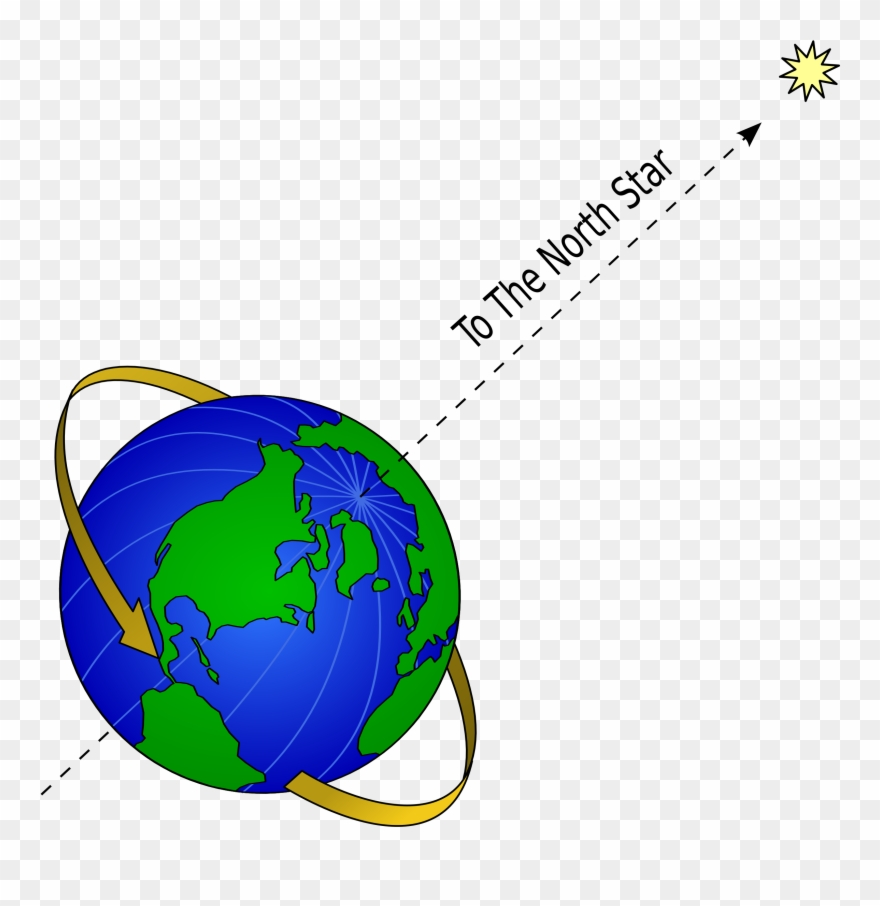 Star world clipart clipart library download Big Image - Earth And North Star Clipart (#465307) - PinClipart clipart library download