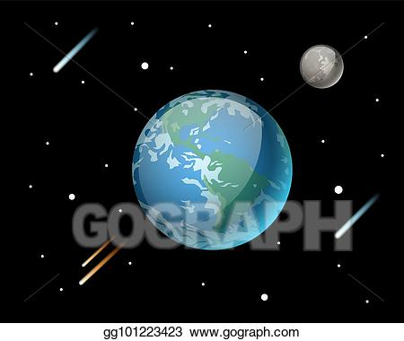 Star world clipart vector Vector Illustration - High quality planet galaxy astronomy ... vector