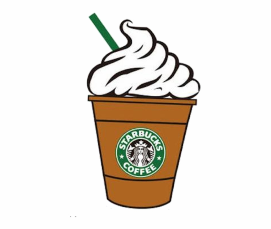 Starbucks clipart free clip library library Clip Black And White Overlays Huge - Starbucks Drinks ... clip library library