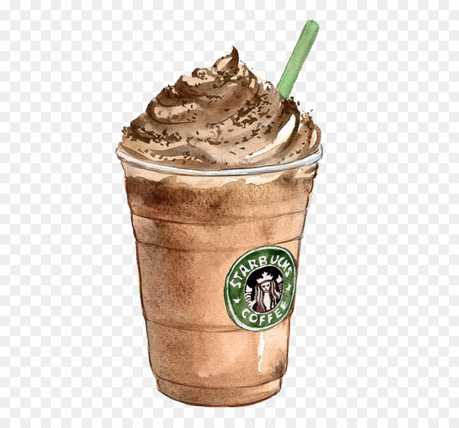 Starbucks iced coffee clipart png royalty free stock Starbucks Coffee Sticker PNG Latte Frappé Coffee Clipart ... png royalty free stock
