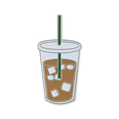 Starbucks iced coffee clipart banner free stock Forge Iced Coffee Enamel Diestruck Lapel Pin banner free stock
