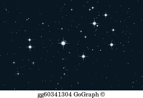 Pleiades clipart image freeuse library Starfield Clip Art - Royalty Free - GoGraph image freeuse library