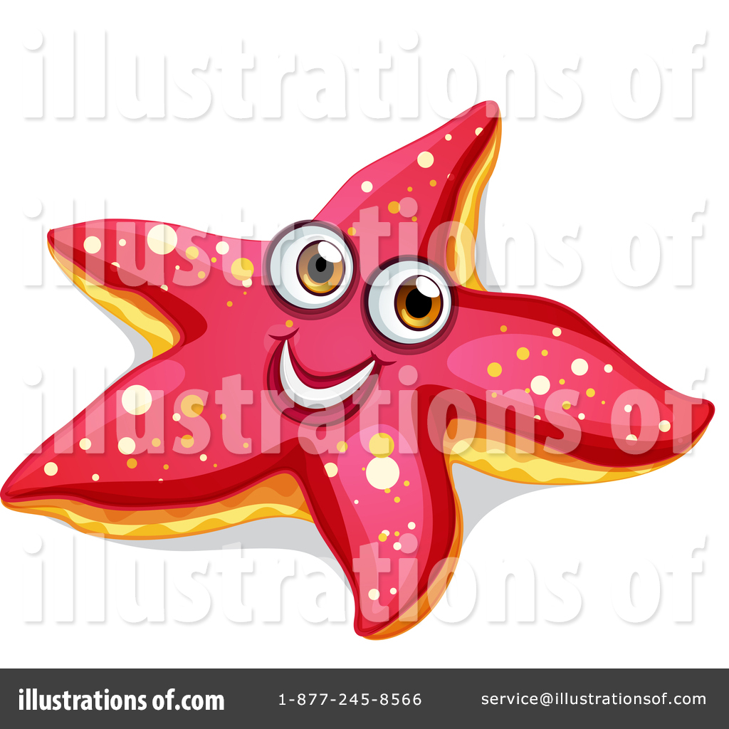 Starfish clipart graphics image royalty free library Starfish Clipart #1445334 - Illustration by Graphics RF image royalty free library