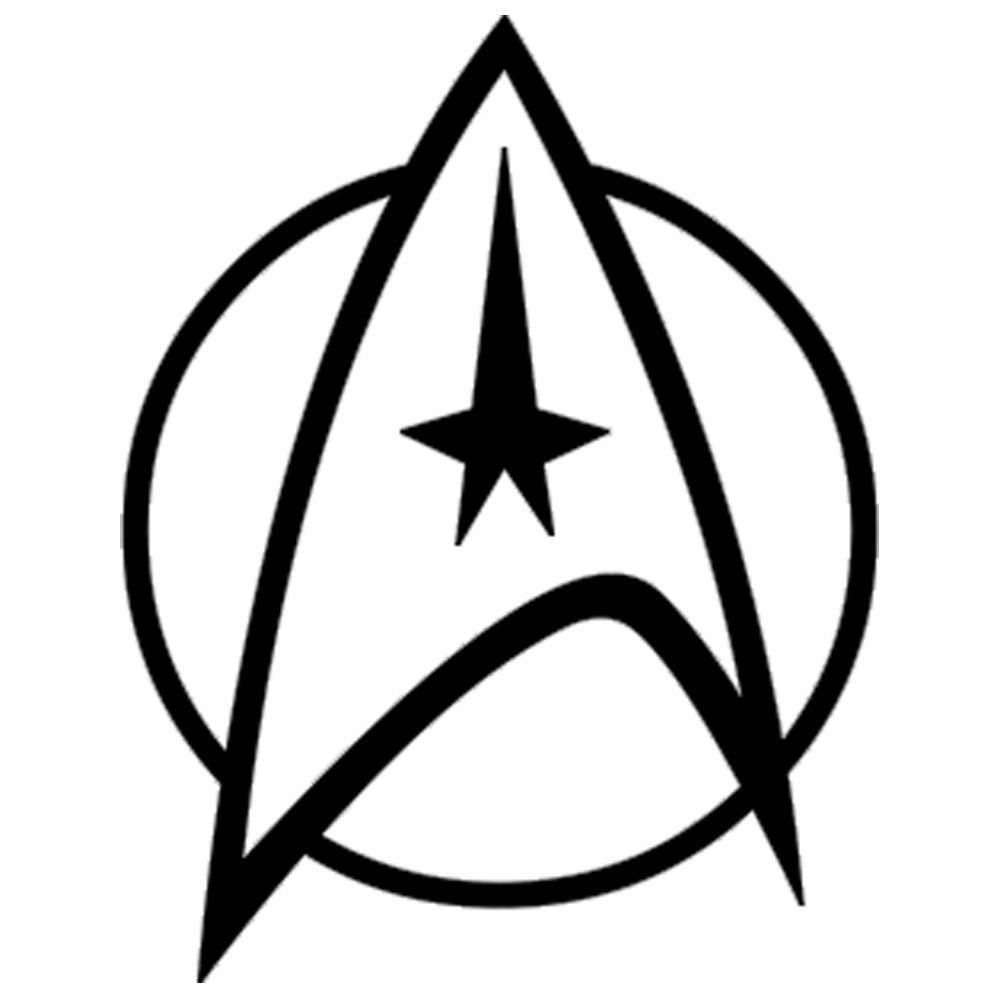 Starfleet symbol clipart clip free library Starfleet Insignia - Vinyl Decal Wall Art | Vinyl Wall ... clip free library