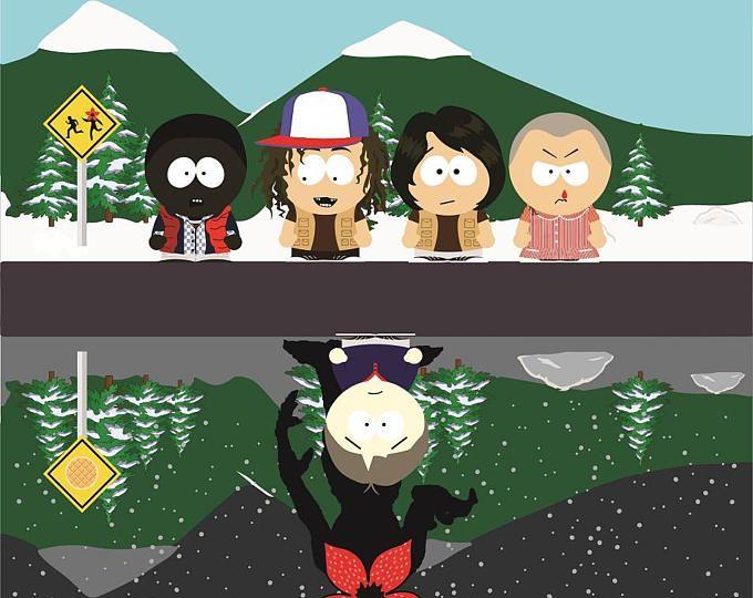 Starnger kids clipart vector library Stranger Park Clipart, Stranger Things, South Park, Stranger ... vector library
