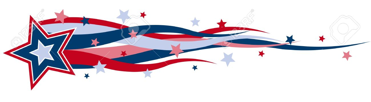 Stars And Stripes Clipart | Free download best Stars And ... svg black and white stock