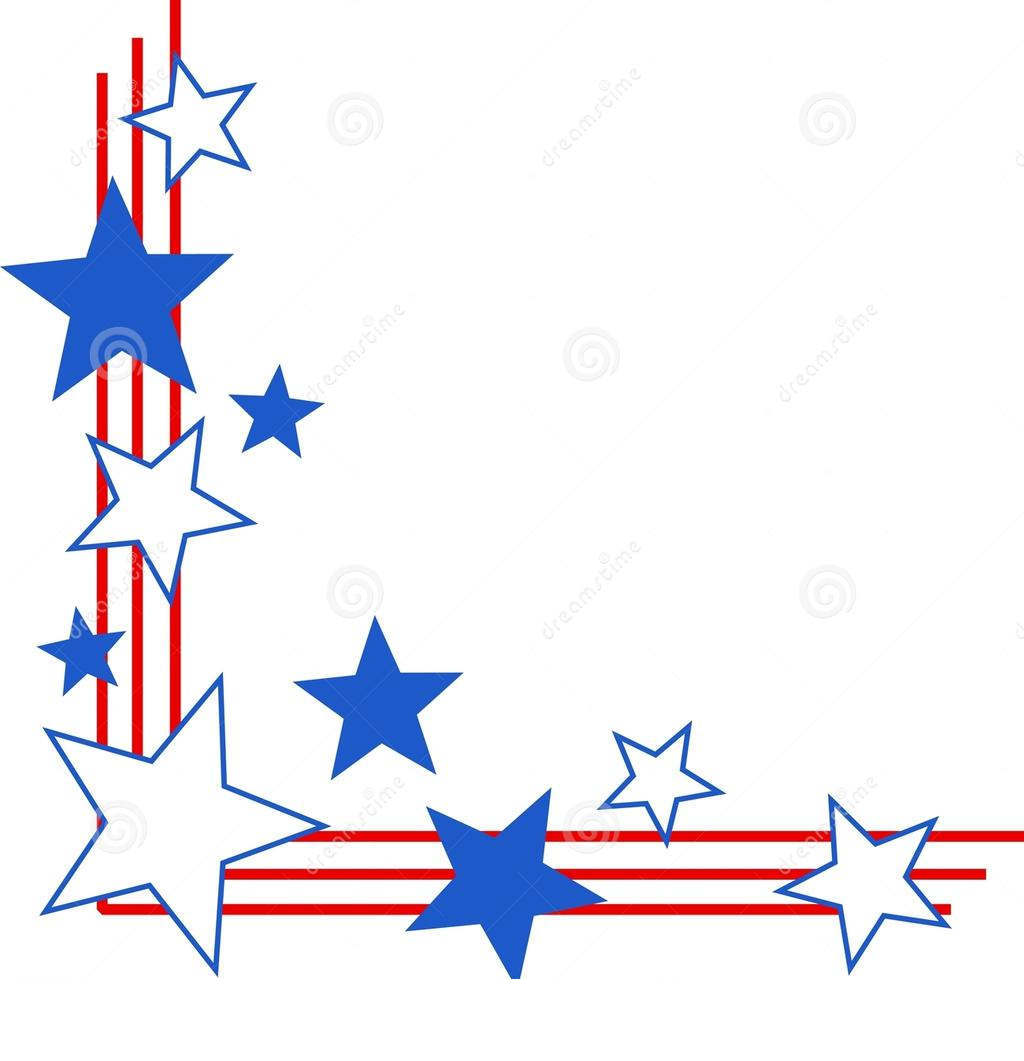 Stars and stripes border clipart free banner royalty free download Stars And Stripes Border Clipart Patriotic - Clipart1001 ... banner royalty free download