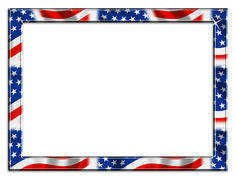 Stars and stripes border clipart free svg free download Stars And Stripes Border Clipart Patriotic Gg Photograph ... svg free download