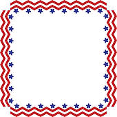 Stars and stripes border clipart free svg freeuse Stars And Stripes Border Clipart K Frame Vector Or ... svg freeuse