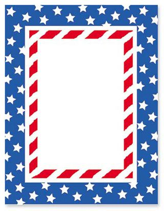 Stars and stripes border clipart free royalty free stock Patriotic Page Borders | Free download best Patriotic Page ... royalty free stock