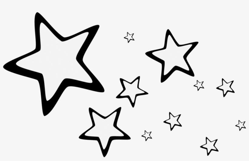 Stars in sky black and white clipart clip art royalty free library Brush Png Stars By Ipanconleche On Deviantart - Stars In The ... clip art royalty free library