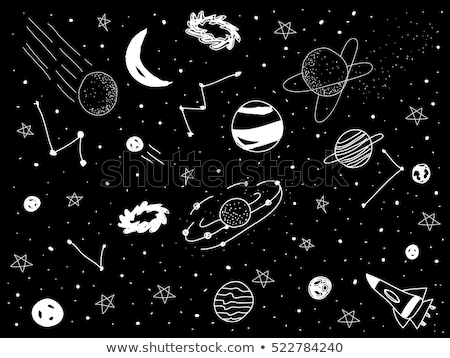 Stars in the universe clipart black and whtie picture black and white stock Universe Png Black And White & Free Universe Black And White ... picture black and white stock