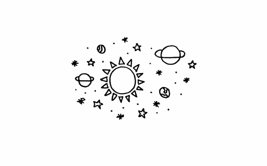 Stars in the universe clipart black and whtie clipart library stock galaxy #planets #stars #star #tumblr #universe - Easy ... clipart library stock