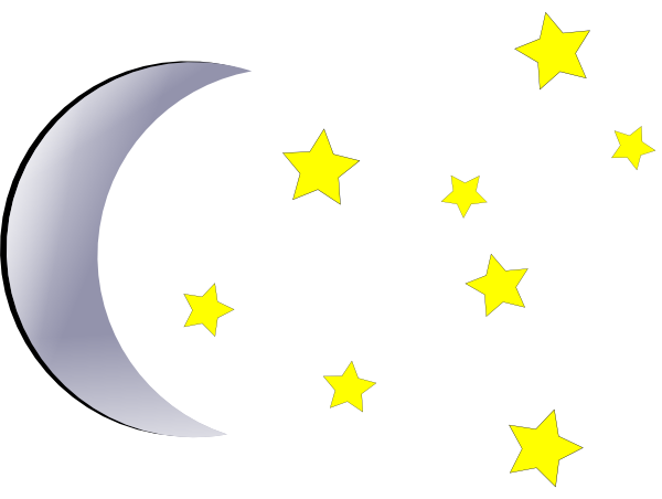 Stars & moon clipart graphic download Moon And Stars Clipart & Look At Clip Art Images - ClipartLook graphic download