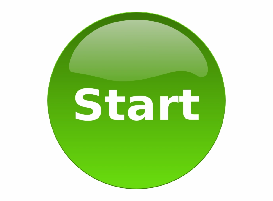 Start the game clipart vector library Start Button Clip Art At Clker - Start Clipart Free PNG ... vector library