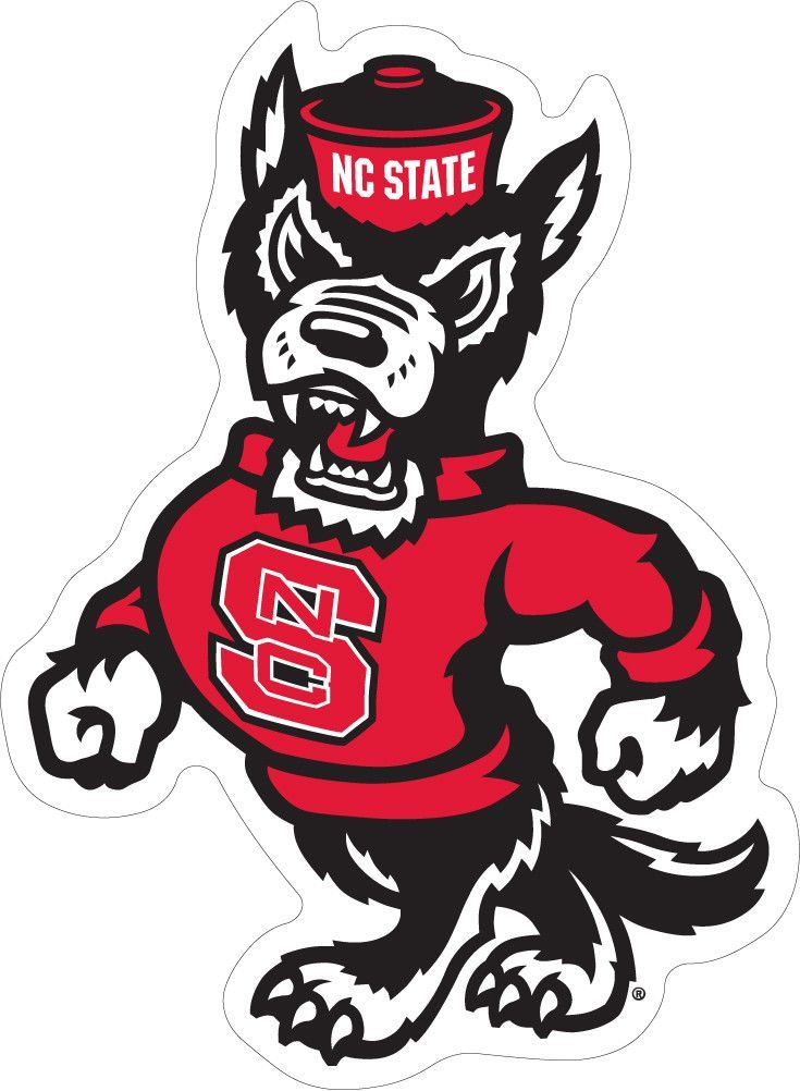 State bear north carolina clipart image royalty free stock NC State Strutting Wolf Decal | Logos | North carolina state ... image royalty free stock