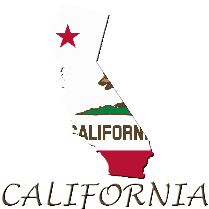 Us map showing california clipart clip royalty free library State of California (Clipart/Logo) by uda4754 on DeviantArt clip royalty free library