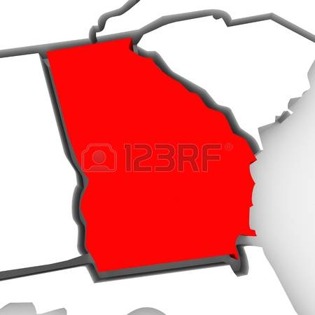 State of georgia map clipart image black and white library 6,797 Georgia Stock Illustrations, Cliparts And Royalty Free ... image black and white library