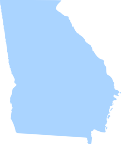State of georgia map clipart image black and white download Georgia Clip Art & Georgia Clip Art Clip Art Images - ClipartALL.com image black and white download
