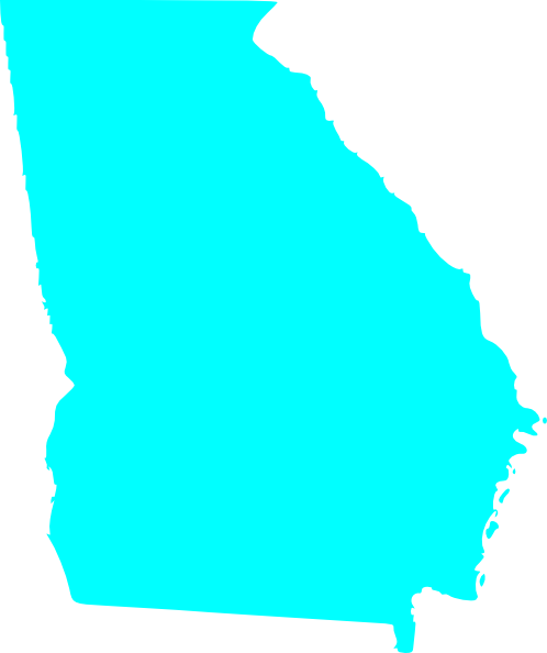 State of georgia map clipart png black and white library State of georgia map clipart - ClipartFest png black and white library