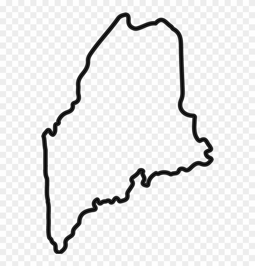 State of maine clipart clip transparent Maine Outline Png - Transparent State Of Maine, Png Download ... clip transparent