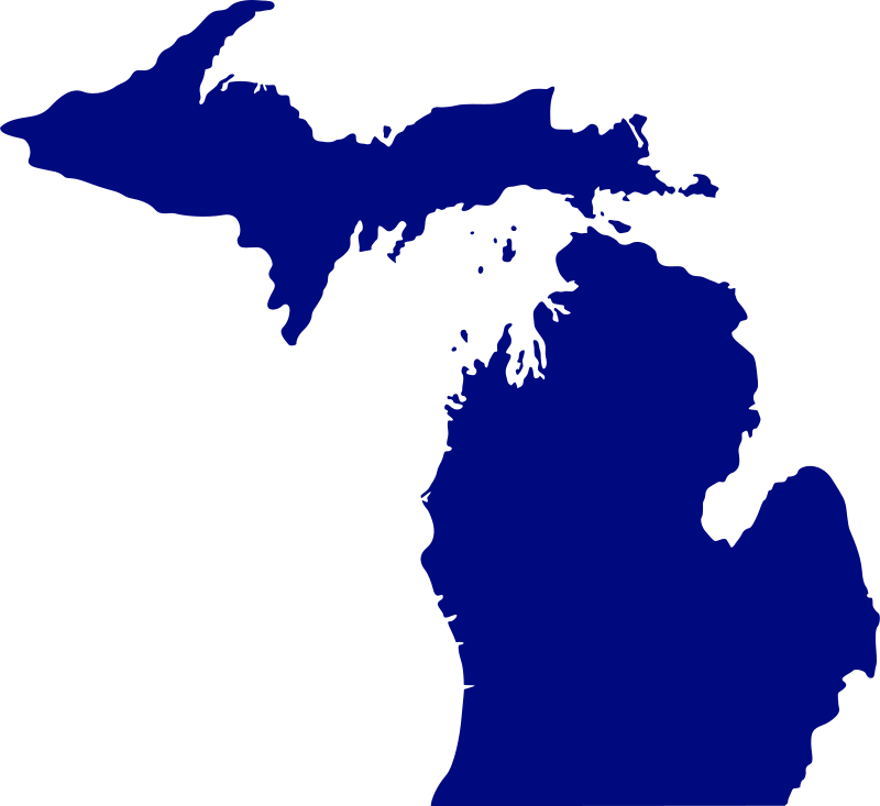 State of michigan clipart freeuse stock Free Clipart: State of Michigan | Anonymous freeuse stock