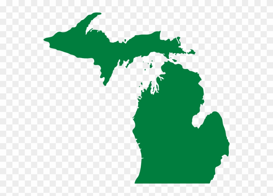 State of michigan clipart clip transparent download State Of Michigan No Background Clipart (#1465518) - PinClipart clip transparent download