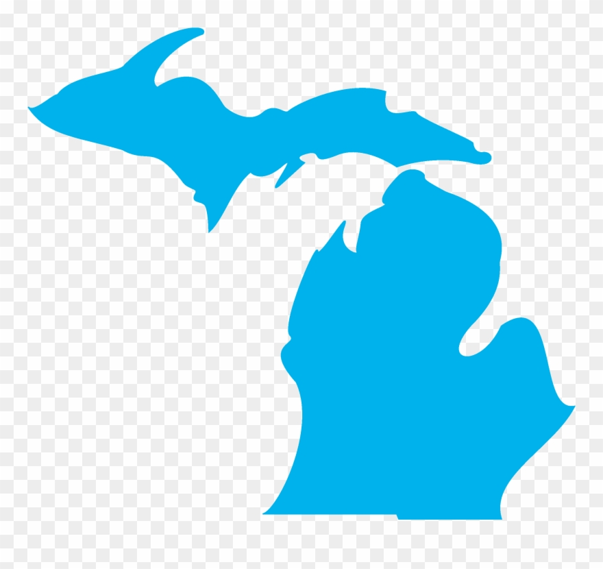 State of michigan clipart svg black and white library Michigan Based - State Of Michigan Clipart (#3379504 ... svg black and white library