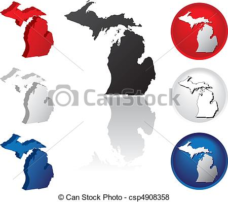 State of michigan logo clip art image library download Michigan Illustrations and Stock Art. 1,881 Michigan illustration ... image library download