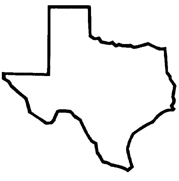 State of texas logo clip art image library stock Texas state line art free clip art clipartcow - Clipartix image library stock