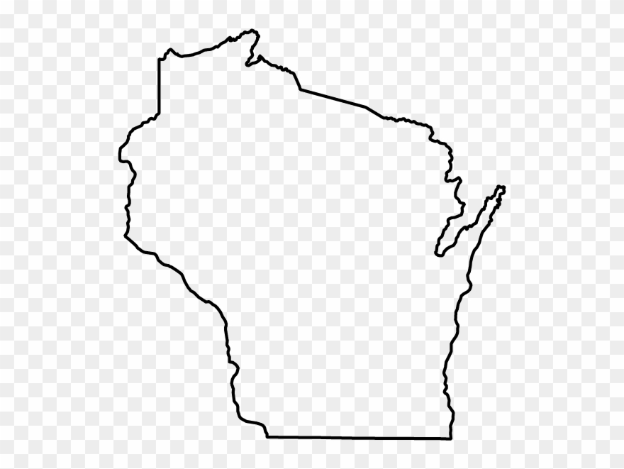 State of wisconsin black and white clipart png royalty free State Of Wisconsin - Wisconsin Clip Art - Png Download ... png royalty free