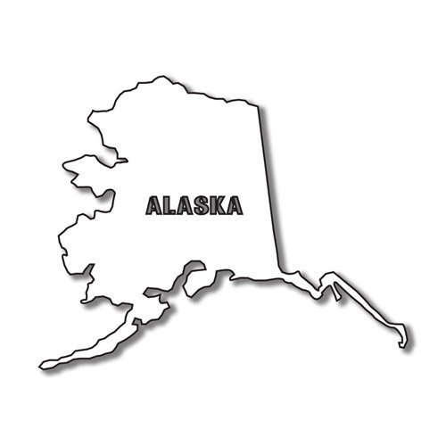 States alaska shape clipart stock Alaska clipart shape, Alaska shape Transparent FREE for ... stock