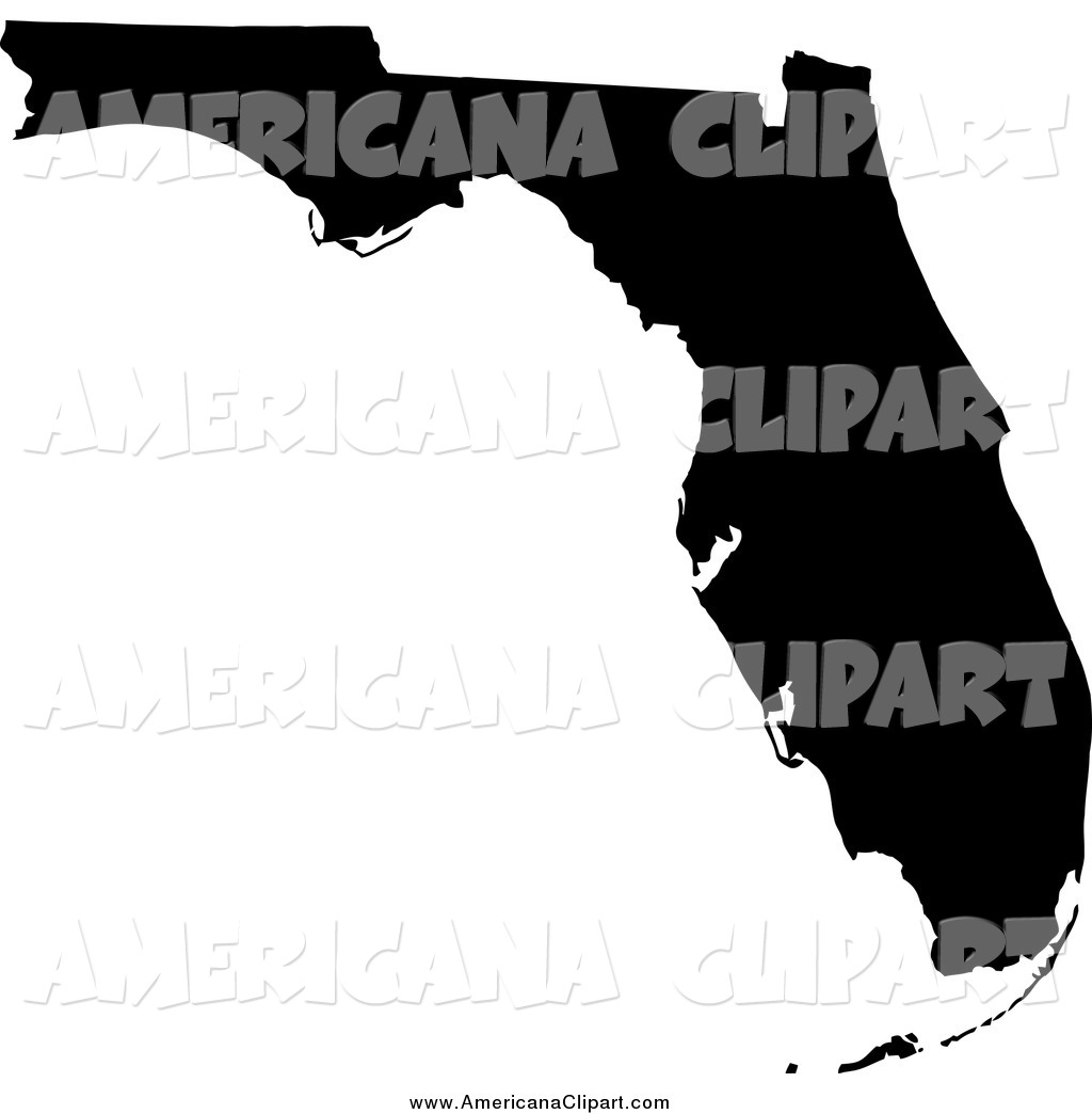 States silhouette clip art vector library library Royalty Free Sunshine State Stock Americana Designs vector library library
