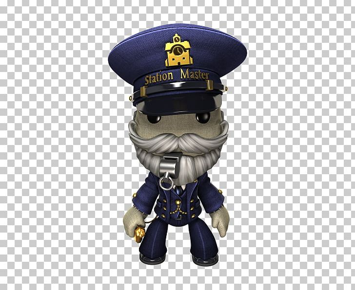 Station master clipart banner royalty free library LittleBigPlanet 3 Station Master Train Station Figurine PNG ... banner royalty free library