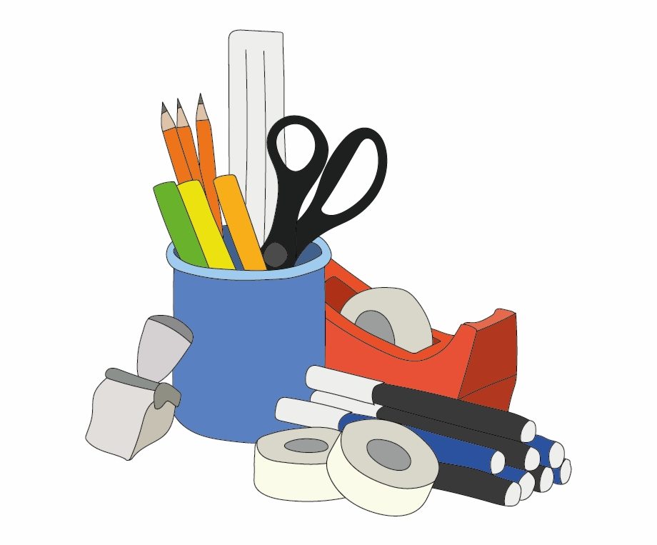 Stationery clipart images png download Stationery - Office Supplies Clipart Png Free PNG Images ... png download