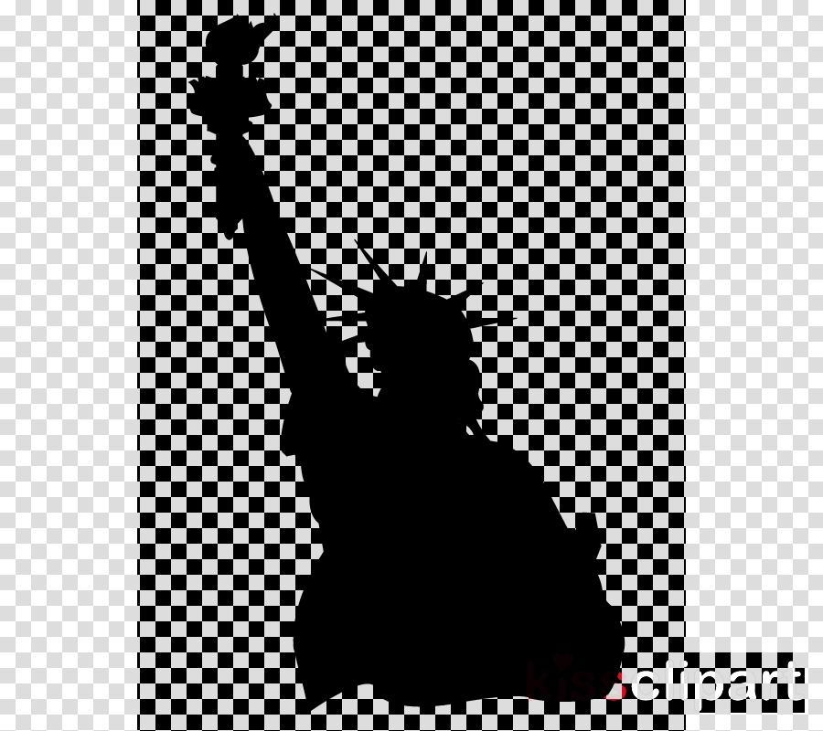 Statue icon clipart clip freeuse stock Statue Of Liberty Cartoon clipart - Illustration, Silhouette ... clip freeuse stock