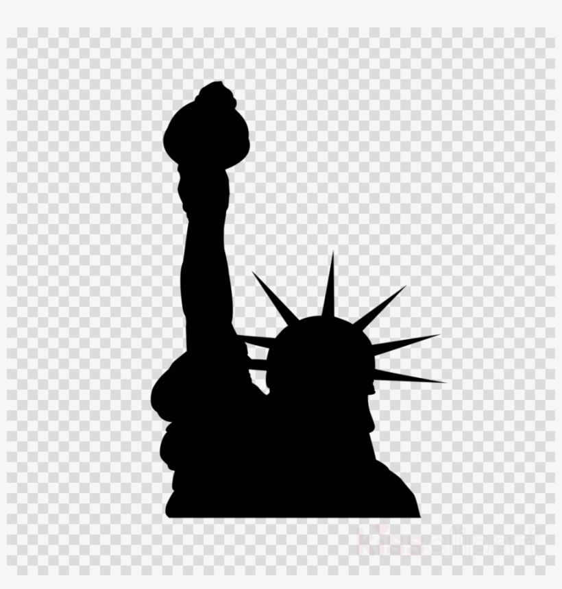 Statue icon clipart freeuse library Statue Of Liberty Silhouette Clipart Statue Of Liberty ... freeuse library