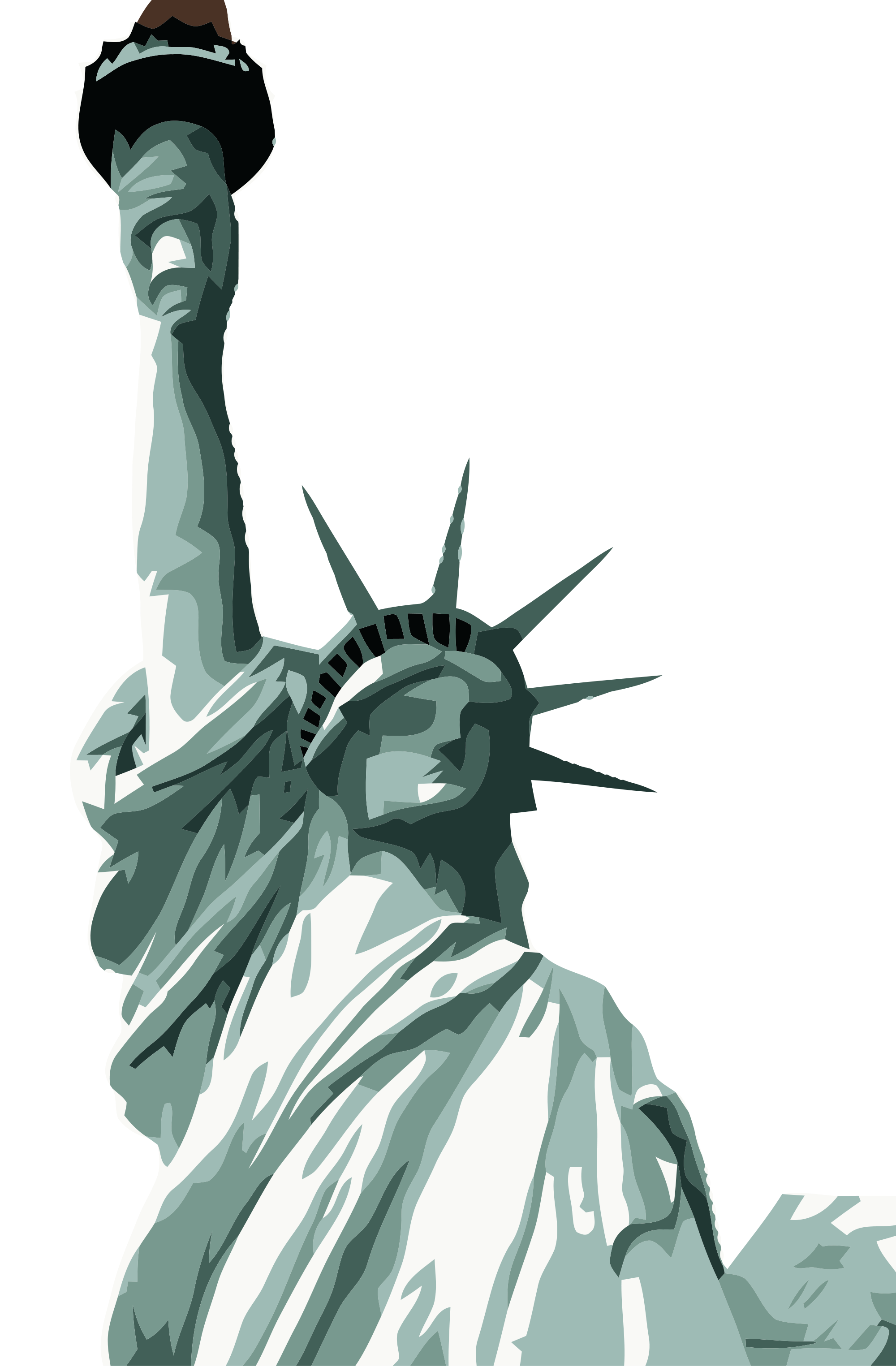 Statue liberty clipart jpg library Pin by Hopeless on Clipart | Statue of liberty, Statue ... jpg library