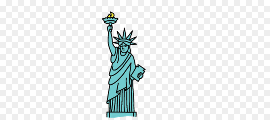 Statue of liberty clipart png royalty free download Statue Of Liberty Cartoon clipart - Drawing, Illustration ... png royalty free download