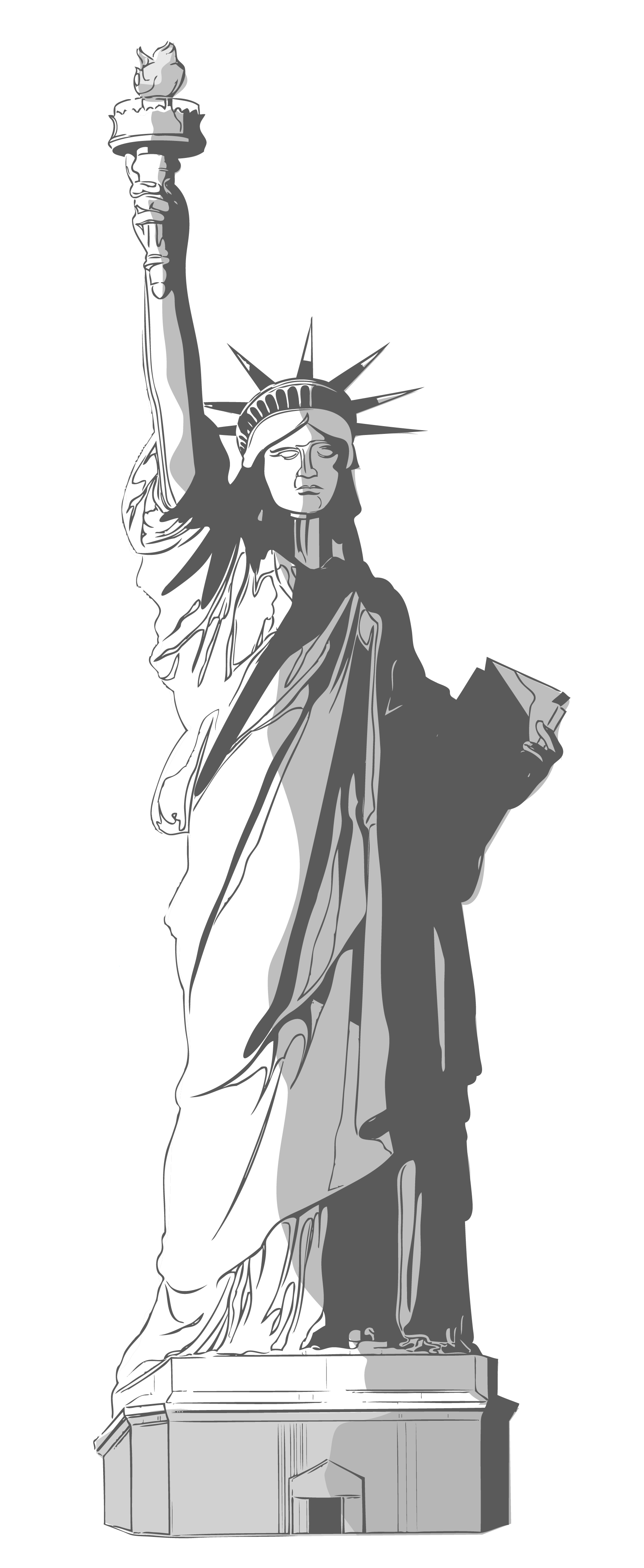 Statue of liberty clipart png library download Statue of Liberty PNG Clipart | Gallery Yopriceville - High ... png library download