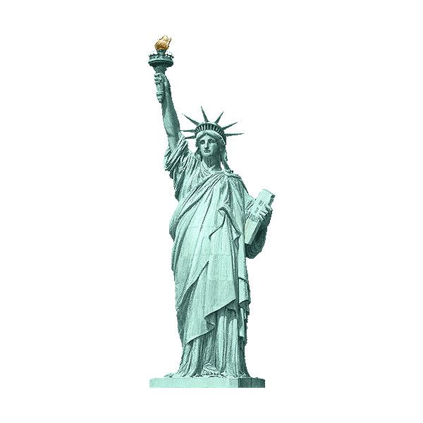 Statue of liberty clipart free png stock Replicas of the Statue of Liberty clipart / Free clip art ... png stock