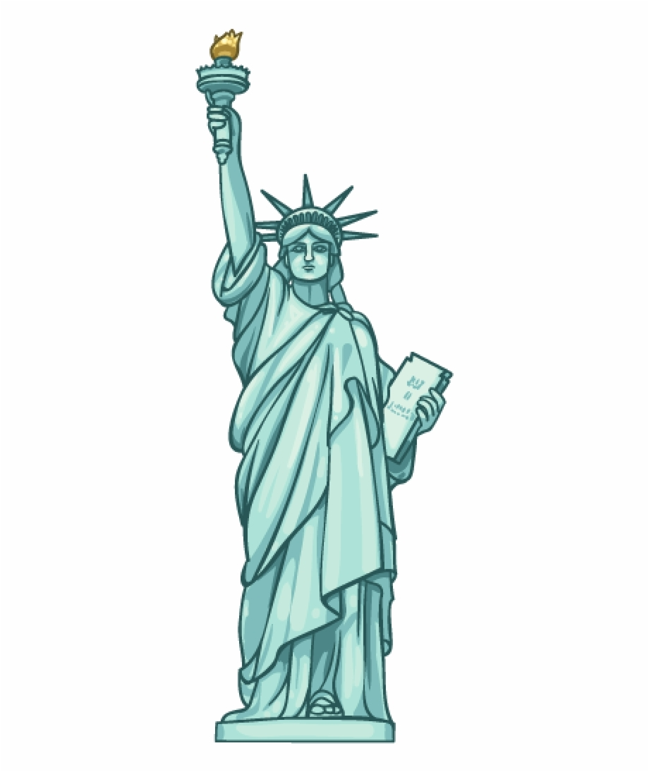 Statue of liberty clipart image freeuse download Statue Of Liberty - Statue Of Liberty Clipart Png Free PNG ... image freeuse download