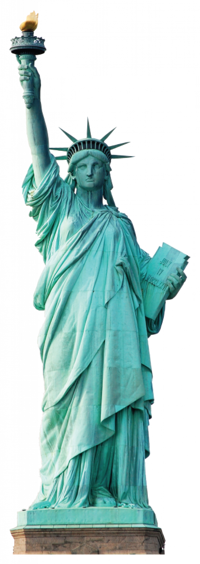 Statue of liberty crown clipart banner free Muursticker van het Vrijheidsbeeld in New York - Roomit.nl | Amerika ... banner free