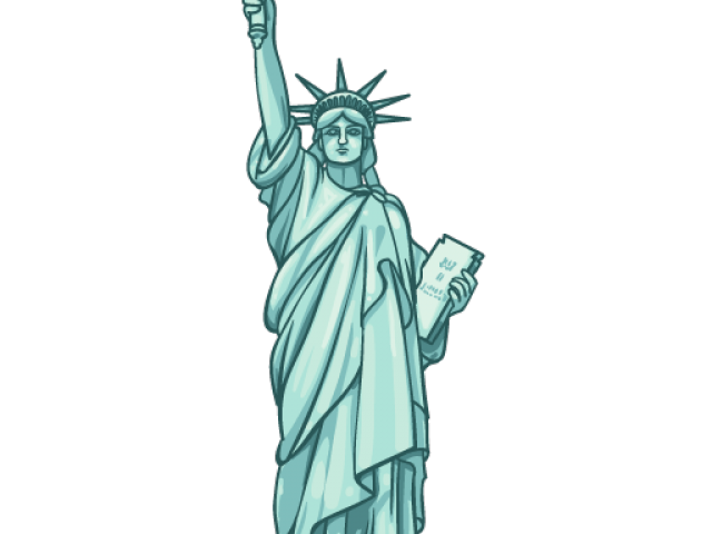 Statue of liberty crown clipart picture freeuse stock Statue Of Liberty Silhouette Free Download Clip Art - carwad.net picture freeuse stock
