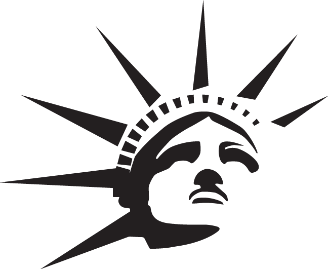 Statue of liberty crown clipart picture transparent download 28+ Collection of Statue Of Liberty Head Clipart | High quality ... picture transparent download
