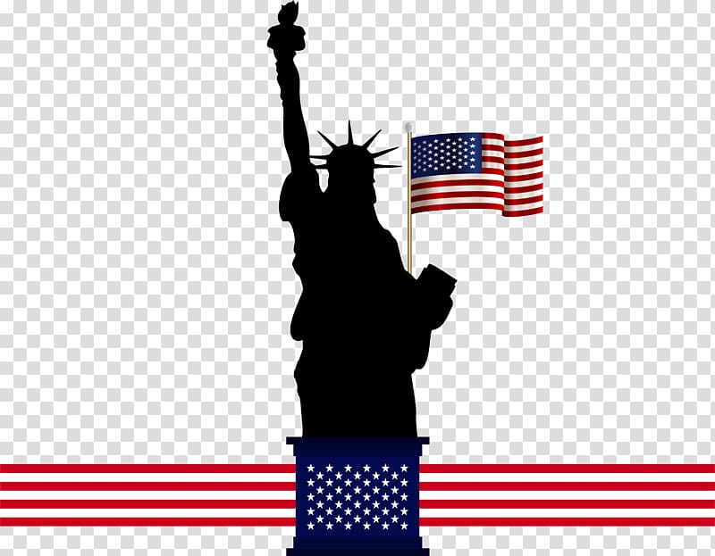 Statue of liberty independence day black and white clipart graphic free library Statue of Liberty , American Statue of Liberty transparent ... graphic free library