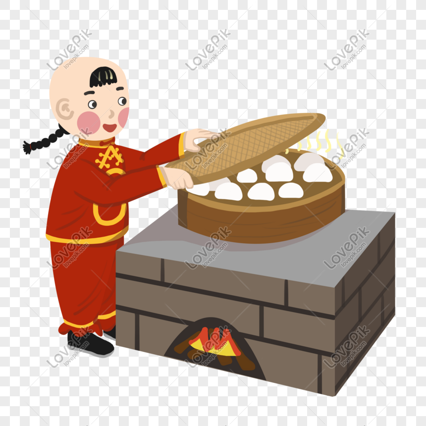 Steamed buns clipart png library stock Over the years steamed buns character illustration png ... png library stock